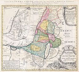 1750_Homann_Heirs_Map_of_Israel_-_Palestine_-_Holy_Land_(12_Tribes)_-_Geographicus_-_Palestina-homannheirs-1750